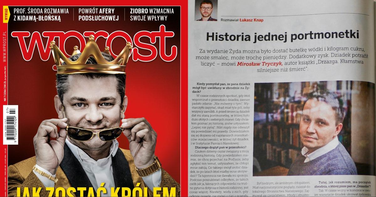 """""""Drzazga"""": wywiad z Mirosławem Tryczykiem we """"Wprost"""""""